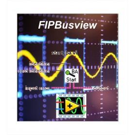 FIPBUSVIEW DLL, VI FIP pour Labview
