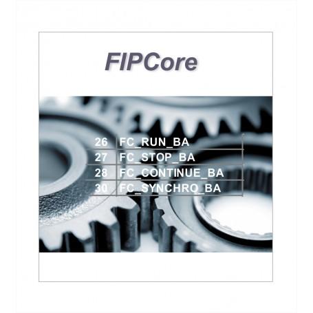 Ensemble de fonctions pour programmer un réseau FIP WorldFIP