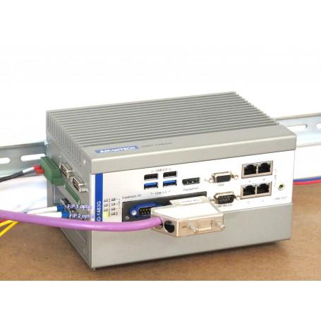 FES - Fip Embbeded  System pour connecter une carte FIP mPCIe ou PCIe, filaire ou optique au réseau FIP